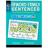 Creative Teaching Press Paperback, Cut & Paste Word Family Sentences(CTP2217)