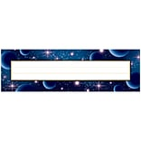 Teacher Created Resources, Stellar Space Flat Name Plates, Pack of 36 (TCR5855)