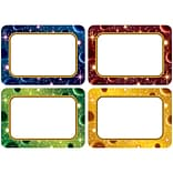 Teacher Created Resources, Stellar Space Name Tags/Labels Multi-Pack, Pack of 36 (TCR5854)