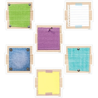 Creative Teaching Press 6 Patches, Assorted Colors (CTP6594)