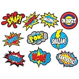 Teacher Created Resources 6 Superhero Saying, Assorted Colors (TCR5835)
