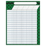 Teacher Created Resources Green Plaid Incentive Chart Green and Black (TCR7546)