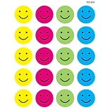 Teacher Created Resources Happy Faces Stickers, Pack of 120 (TCR1274)