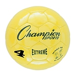 Champion Sports Extreme Size 4 Yellow Soccer Ball  (CHSEX4YL)