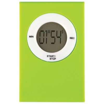 Teacher Created Resources Magnetic Digital Timer, Lime (TCR20718)