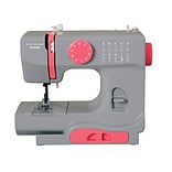 Janome Janome Portable Easy-to-Use 5-Pound Mechanical Sewing Machine; Gaceful Gray