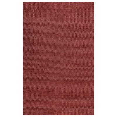 Rizzy Home Ellington  Collection  Jute/Wool  3 x 5 Red (ELGEG9031RE000305)