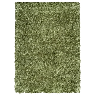 Rizzy Home Kempton Collection 100% Polyester 9x12 Green (KNMKM150800480912)