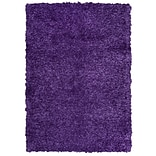 Rizzy Home Kempton Collection 100% Polyester 6 x 9 Purple (KNMKM150900660609)