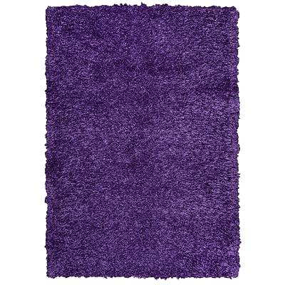 Rizzy Home Kempton Collection 100% Polyester 5 x 7 Purple (KNMKM150900660507)