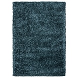 Rizzy Home Kempton Collection 100% Polyester 6 x 9 Gray Blue (KNMKM155800820609)