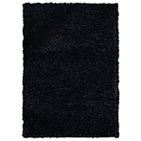 Rizzy Home Kempton Collection 100% Polyester 5 x 7 Black (KNMKM159300060507)