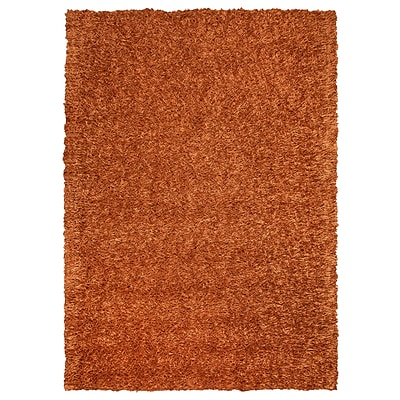 Rizzy Home Kempton Collection 100% Polyester 8x10 Orange (KNMKM230900600810)
