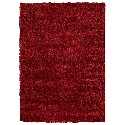 Rizzy Home Kempton Collection 100% Polyester 36x 56 Red (KNMKM231000493656)