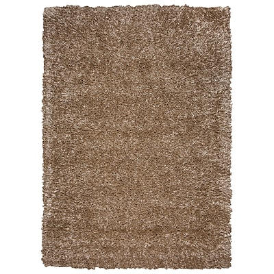 Rizzy Home Kempton Collection 100% Polyester 8x10 Tan (KNMKM231800880810)