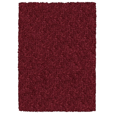 Rizzy Home Kempton Collection 100% Polyester 8x10 Burgundy/Merlot (KNMKM232000140810)