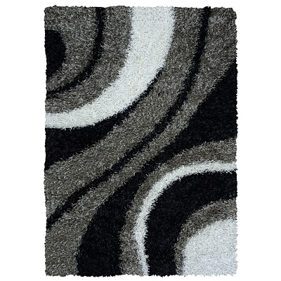 Rizzy Home Kempton Collection 100% Polyester 5 x 7 Multi-Colored (KNMKM232300330507)