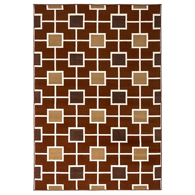 Rizzy Home Millington  Collection 100% Polypropylene 710x1010 Rust (MGTMG4780RU007110)