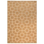 Rizzy Home Millington  Collection 100% Polypropylene 67x96 Gold (MGTMG4781GL006796)