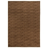 Rizzy Home Millington  Collection 100% Polypropylene 67x96 Brown (MGTMG4872BR006796)