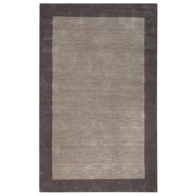 Rizzy Home Platoon Collection New Zealand Wool Blend 8x10 Tan (PLAPL284700440810)