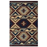 Rizzy Home Southwest Collection 100% Wool 2 x 3 Multi-Colored (SOWSU225300700203)