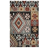 Rizzy Home Southwest Collection 100% Wool 5x8 Multi-Colored (SOWSU810400330508)