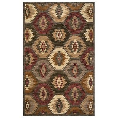 Rizzy Home Southwest Collection 100% Wool 2 x 3 Multi-Colored (SOWSU815200120203)