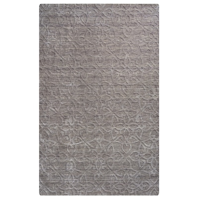 Rizzy Home Uptown Collection New Zealand Wool Blend 36x 56 Gray (UPTUP288400463656)