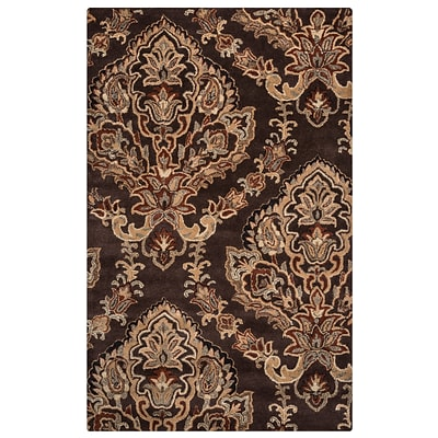 Rizzy Home Volare Collection 100% Wool 3 x 5 Brown (VOLVO168018180305)