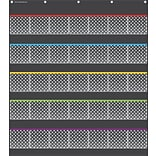 Teacher Created Resources, Black Polka Dots Storage Pocket Chart (TCR20750)