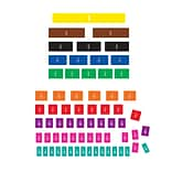 Teacher Created Resources, Fraction Tiles Magnetic Accents (TCR77245)