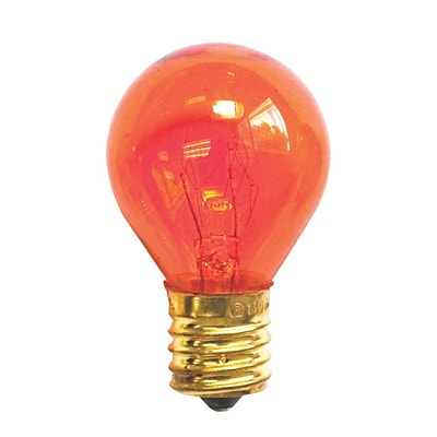 Bulbrite INC S11 10W Dimmable Transparent Orange 25PK (702510)