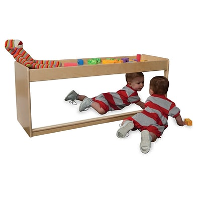 Wood Designs 19H x 48W x 15D Infant Pull-Up Storage (40400)