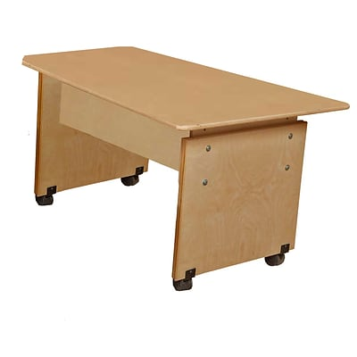 Wood Designs 20-29 H x 60W x 29D Adjustable Height Computer Table (41560)