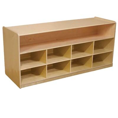 Wood Designs 22.5''h X 48''w X 15''d Low Cubby Storage (99609)