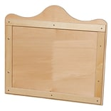 Wood Designs 27H x 29.5W Scalloped Wall Display (990254)