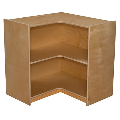 Wood Designs 30H x 29.44W x 15D Corner Storage (990580)