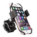 Insten Bike Bicycle Motorcycle Handlebar Phone Holder with Secure Grip 360 Ball Head Mount (Width up