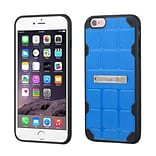 Insten Hard TPU Cover Case w/stand For Apple iPhone 6 Plus/6s Plus - Dark Blue/Black (2189659)