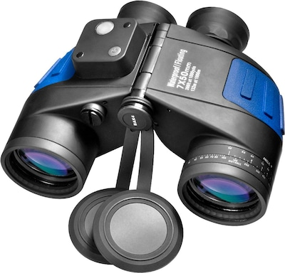 Barska 7x50 Water Proof Deep Sea Floating Binoculars With Reticle (AB10798)