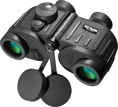 Barska 8x30 Water Proof Battalion Binocular With Rangefinder (AB11776)