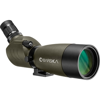 Barska 20-60x60 Blackhawk Spotting Scope, Green, Angled (AD12706)