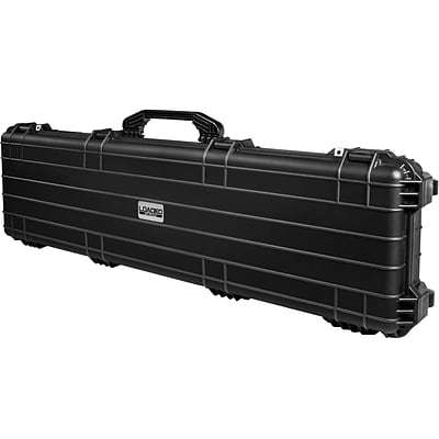 Barska Loaded Gear Ax-500 Watertight 53 Hard Rifle Case w/ Wheels, Black (BH12158)