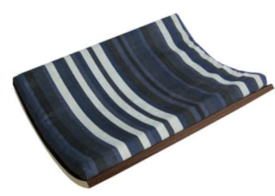 Curve Curve Wall Mounted Pet Bed; Walnut