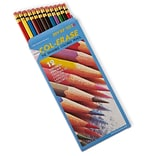 Prismacolor Col-Erase Erasable Colored Pencils, 12 Pack