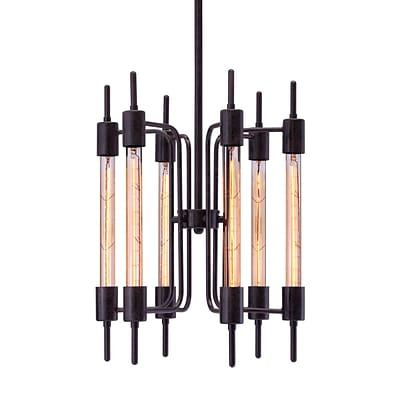 Zuo Modern Gisborne Ceiling Lamp Distressed Black (WC98419)