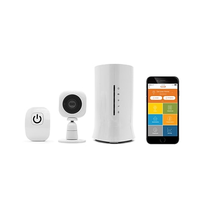 Home8 Smart Garage Starter Kit - Operate Garage Door from Smartphone with 720p HD Camera (H13012US)