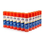 Elmers Permanent All-Purpose Glue Sticks, Clear, 0.77 oz., 12 Sticks/Pk