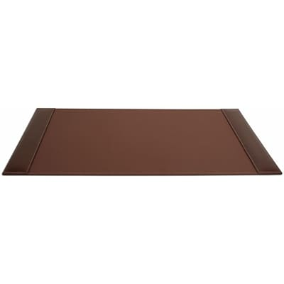 Dacasso  Rustic Leather 34 x 20 Desk Pad with Side Rails (DCSS115)